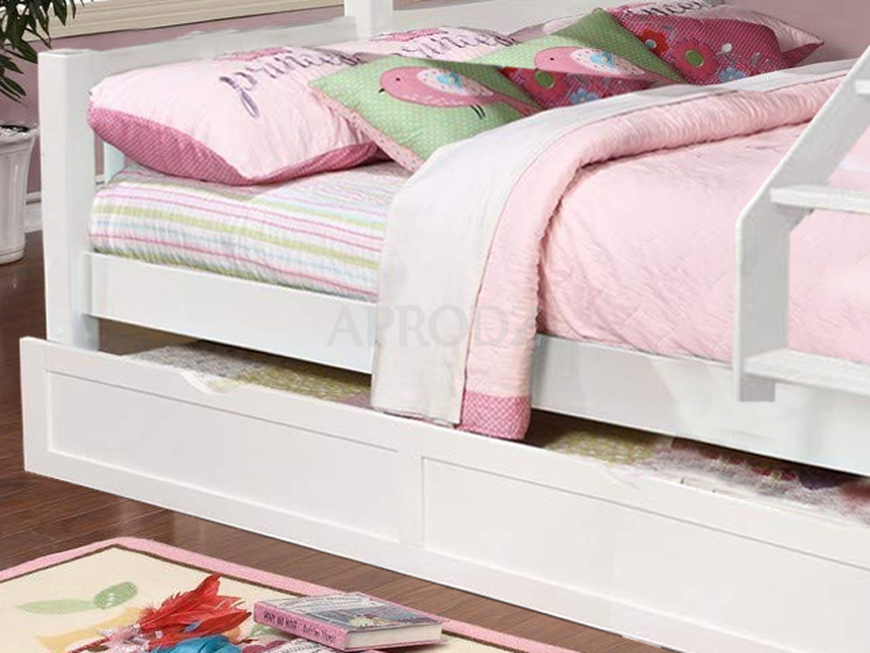 Ashmo Twin Bunk Bed with Trundle