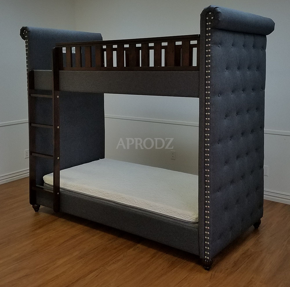 cindy upholstery bunk bed