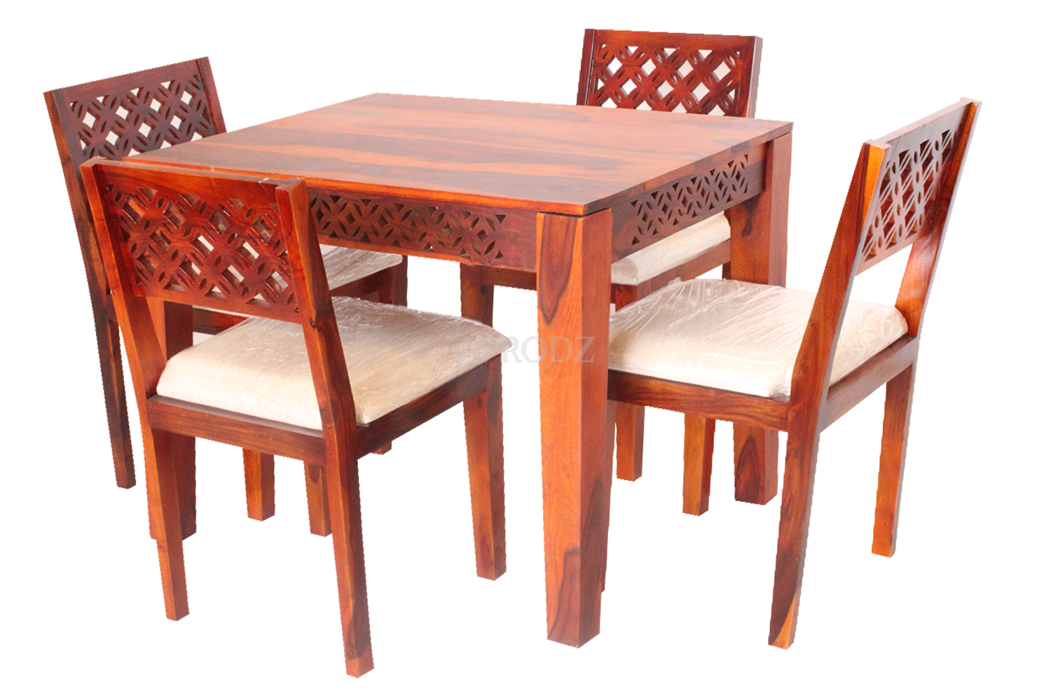 Durque 4 Seater Dining Table Set For Home Dining Furniture Aprodz