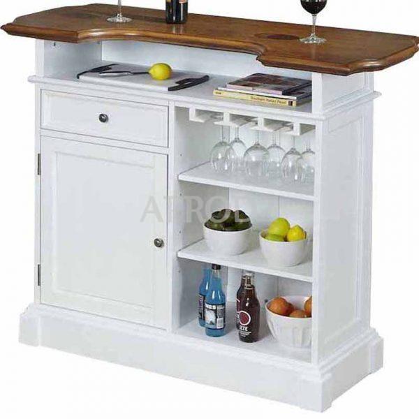 buena bar cabinet