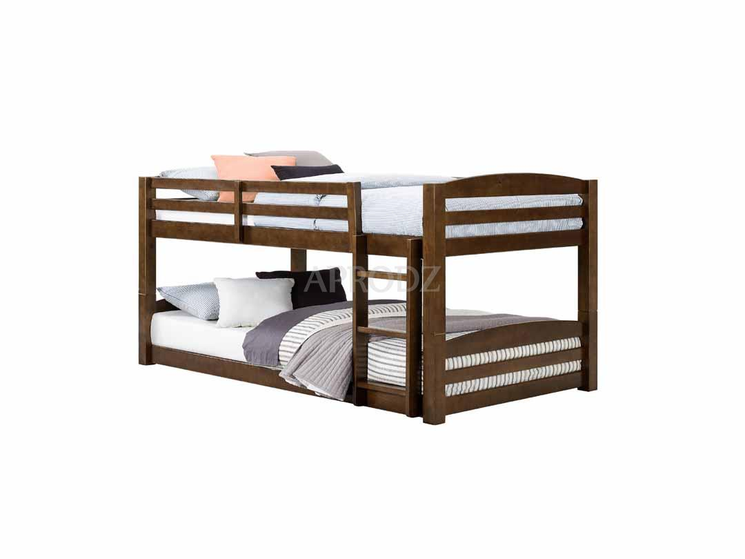 Solid wood bunk bed