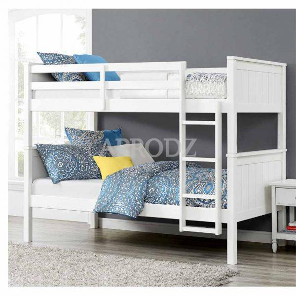 dalton bunk bed white color