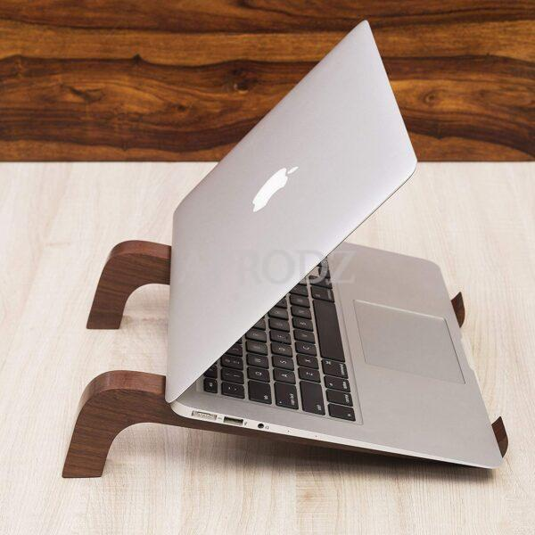wood handmade laptop stand