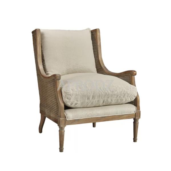 Weissman cane Armchair for living room
