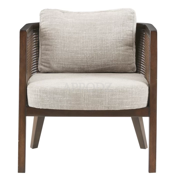 theodore living room cane armchair