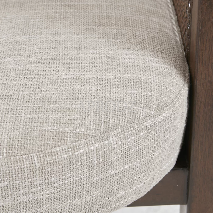 theodore living room armchair in cane work