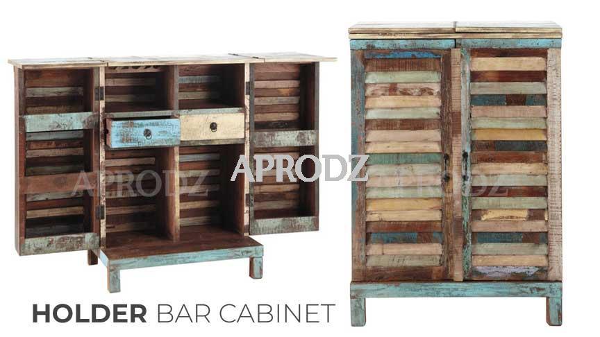 Holder bar cabinet