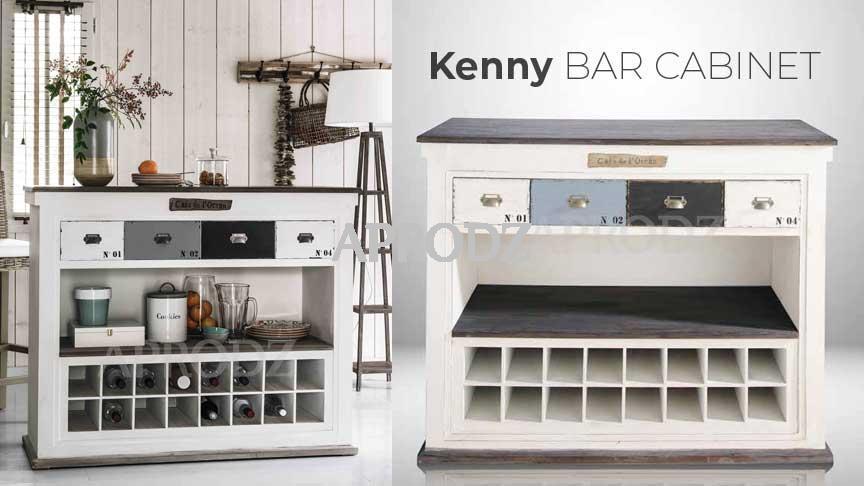 kenny bar cabinet