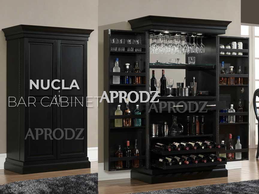 nucla bar cabinet